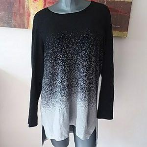 COWL OR CREW 2 peice detachable sweater